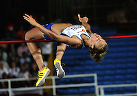 CALI - COLOMBIA - 17-07-2015: Michalela Hruba de Republica Checa, durante la prueba de Salto Alto en el estadio Pascual Guerrero sede, sede de IAAF Campeonatos Mundiales de la Juventud Cali 2015.  / Michalela Hruba of Czech Republic,, during the test of High Jump in the Pascual Guerrero home of the IAAF World Youth Championships Cali 2015. Photos: VizzorImage / Luis Ramirez / Staff.