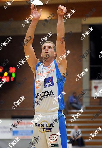 2013-10-01 / Basketbal / seizoen 2013-2014 / Kangoeroes Willebroek / Wim Dobbelaere<br /><br />Foto: Mpics.be
