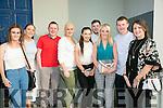 Enjoying  the Mime Wars fundraiser for Ballyheigue GAA at the Ballyheigue Community Centre on Sunday were l-r  Mairead Kennedy, Brid Kenny, Mikey O'Connor, Stacey McCoy, Jacinta Dalton, David Rice, Amanda Gentleman, Donal Kennedy and Yvonne Rice.