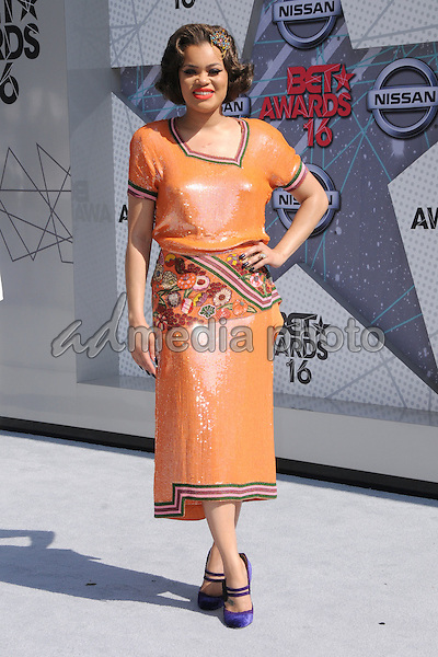 26 June 2016 - Los Angeles. Andra Day. Arrivals for the 2016 BET Awards held at the Microsoft Theater. Photo Credit: Birdie Thompson/AdMedia