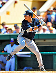 11 March 2009: New York Yankees' infielder Ramiro Pena in action during a Spring Training game against the Detroit Tigers at Joker Marchant Stadium in Lakeland, Florida. The Tigers defeated the Yankees 7-4 in the Grapefruit League matchup. Mandatory Photo Credit: Ed Wolfstein Photo