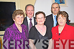 Pictured at the Beaufort Pioneer social in Kate Kearneys bar, Beaufort, on Friday night were Joan O'Connor, Neil and Noreen O'Sullivan, Mickie Foley and Joan O'Brien. ....