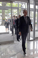 Washington, DC - June 14, 2019: Portuguese Minister of National Defense Joao Gomes Cravinho enters the Center for International and Strategic Studies in Washington D.C. June 14, 2019, to participate in a discussion on transatlantic security challenges.  (Photo by Lenin Nolly/Media Images International)