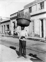 Bread man, Havana, Cuba, ca. 1904