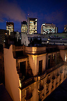 Buenos Aires, Argentina...Imagens da cidade de Buenos Aires, capital da Argentina. Centro de Buenos visto de um terraco...The Buenos Aires city. The view of Buenos Aires downtown from the terrace...Foto: JOAO MARCOS ROSA / NITRO