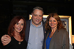"""General Hospital Jacklyn Zeman """"Bobbie Spencer"""" poses with Bill and Maureen Nussbaum who were honored with the Heart of Gold Award. Jackie is honorary chair of The 29th Annual Jane Elissa Extravaganza which benefits The Jane Elissa Charitable Fund for Leukemia & Lymphoma Cancer, Broadway Cares and other charities on November 14, 2016 at the New York Marriott Hotel, New York City presented by Bridgehampton National Bank and Walgreens.  (Photo by Sue Coflin/Max Photos)"""