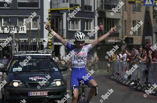 PK 1e jaars nieuwelingen Geel : Tosh Van der Sande werd Antwerps provinciaal kampioen.