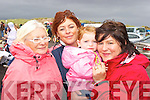 Margaret and Sharon Burke with Jacqui and Maggie Mai O'Donoghue at the Glenbeigh Races on Saturday afternoon.   Copyright Kerry's Eye 2008