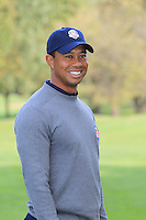 Tiger Woods (USA) at the USA Team photo shoot during Monday's Practice Day of the 39th Ryder Cup at Medinah Country Club, Chicago, Illinois 25th September 2012 (Photo Eoin Clarke/www.golffile.ie)