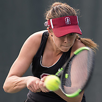 Stanford Tennis W vs Florida, February 24, 2018