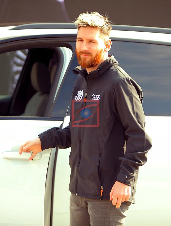 AUDI Premium Partner del FC Barcelona.<br /> Lionel Messi.