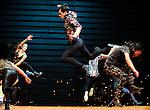 TWIN PARADOX....chorégraphie : Mathilde Monnier..musique : Luc Ferrari..scénographie & assistante artistique : Annie Tolleter..lumières : Éric Wurtz..réalisation sonore : Olivier Renouf..costumes : Laurence Alquier..avec : ..Cédric Andrieux,..Marion Ballester,..Julia Cima,..Sonia Darbois,..Thibault Lac,..I-Fang Lin,..Félix Ott,..Jonathan Pranlas..Guillaume Guilherme,..Jung-Ae Kim, ..Le 08/04/2013..Lieu : Théâtre de la Ville..Ville : Paris..© Laurent Paillier / photosdedanse.com..All rights reserved