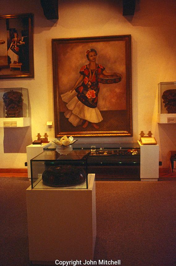 Interior of the Museo Dolores Olmedo Patino, Mexico City, Mexico