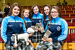 """Tralee Chamber Alliance -  """"Our Big Idea"""" event for TY Students at the IT Tralee North Campus on Monday. Pictured Presentation Tralee TY Students Blathnaid Cotter, Eimear Ellard, Niamh O Shea, Niamh Walsh and Chloe Morris with their project CaCa Collector"""