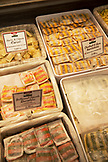 CANADA, Vancouver, British Columbia, pasta for sale at Zara's Deli at the Granville Island Public Market