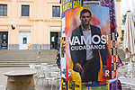 Vamos! Albert Rivera, leader of Ciudadanos, poster, National Election, Spain, April 2019