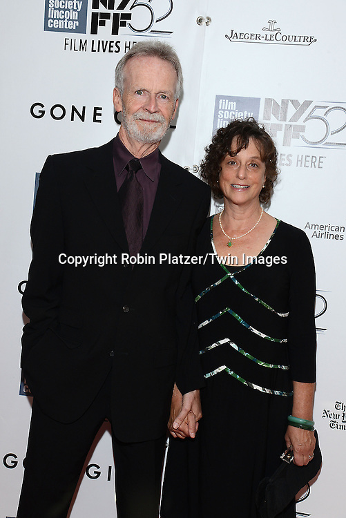 David Clennon and wife attend the &quot;Gone Girl&quot; premiere at the opening night of The New York Film Festival  on September 26, 2014 at Alice Tully Hall in New York City. <br /> <br /> photo by Robin Platzer/Twin Images<br />  <br /> phone number 212-935-0770