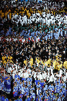 15 MAR 2006 - MELBOURNE, AUS - Teams arrive in the MCG for the Opening Ceremony of the 2006 Commonwealth Games .(PHOTO (C) NIGEL FARROW)