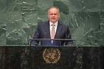 DSG meeting<br /> <br /> AM Plenary General DebateHis<br /> <br /> <br /> His Excellency Andrej Kiska, President, Slovak Republic