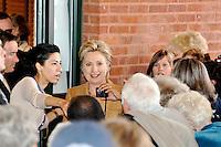 Huma Abedin & Hillary Clinton 2008 By Jonathan Green