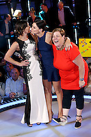 White Dee, Deirdre Kelly, Edele Lynch, Emma Willis at The Celebrity Big Brother final<br /> Borehamwood. 12/09/2014 Picture by: James Smith / Featureflash