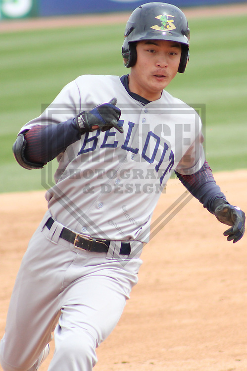 APPLETON - MAY 2011: Wang-Wei Lin (23) of the Beloit Snappers, Class-A affiliate of the Minnesota Twins, during a game on May 18, 2011 at Fox Cities Stadium in Appleton, Wisconsin. (Photo by Brad Krause) ........