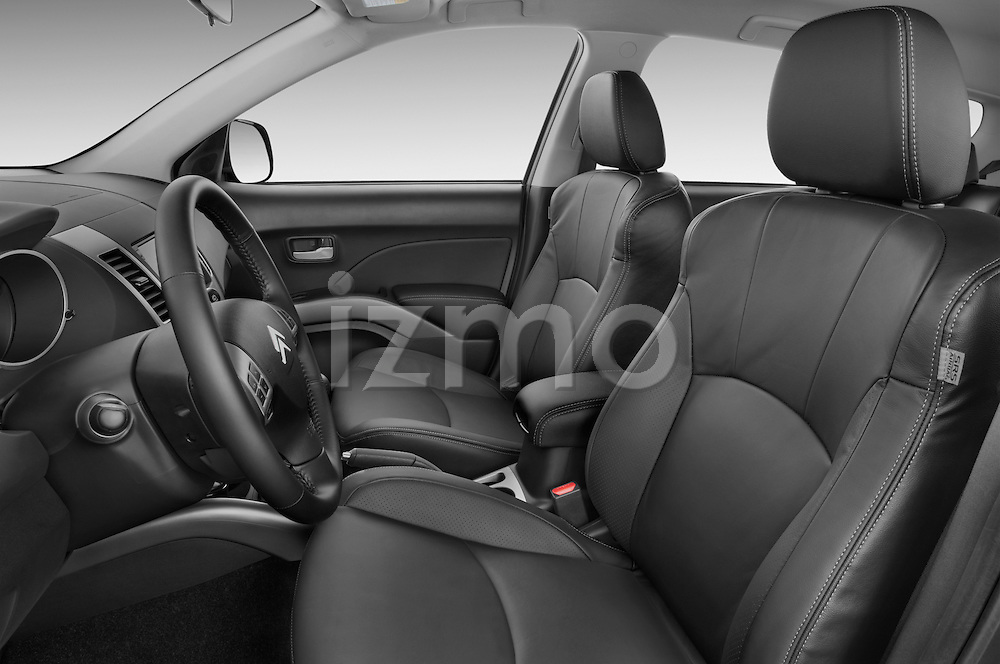 Front seat view of a 2007 - 2012 Citroen C-CROSSER Exclusive  SUV 4WD