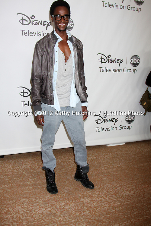 LOS ANGELES - JUL 27:  Edi Gathegi arrives at the ABC TCA Party Summer 2012 at Beverly Hilton Hotel on July 27, 2012 in Beverly Hills, CA