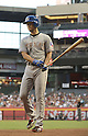 Yu Darvish (Rangers), MAY 27, 2013 - MLB : Yu Darvish of Rangers prepares to bat during the MLB game between the Arizona Diamondbacks and the Texas Rangers in Phoenix, Arizona, United States. (Photo by AFLO)