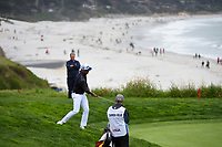 Rafael Cabrera Bello (ESP) chips on to 9 during round 3 of the 2019 US Open, Pebble Beach Golf Links, Monterrey, California, USA. 6/15/2019.<br /> Picture: Golffile | Ken Murray<br /> <br /> All photo usage must carry mandatory copyright credit (© Golffile | Ken Murray)