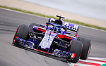 12.05.2018 Brendon Hartley (NZL) Red Bull Toro Rosso Honda at Formula One World Championship,  Spanish Grand Prix, Qualifying, Barcelona, Spain