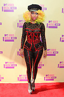 LOS ANGELES, CA - SEPTEMBER 06: Nicki Minaj at the 2012 MTV Video Music Awards at The Staples Center on September 6, 2012 in Los Angeles, California. &copy;&nbsp;mpi28/MediaPunch inc. /NortePhoto.com<br />