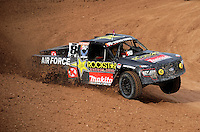 Dec. 10, 2010; Chandler, AZ, USA;  LOORRS pro two unlimited driver Todd LeDuc during qualifying for round 15 at Firebird International Raceway. Mandatory Credit: Mark J. Rebilas-US PRESSWIRE