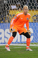 Sporting Kansas City goalkeeper Jimmy Nielsen (1) Sporting Kansas City defeated D.C. United  1-0 at RFK Stadium, Saturday March 10, 2012.