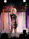 Sweetie during a performance of 'Ultimate Drag Off', the zaniest, live theatrical interactive game-show where audience members vote and crown the next drag superstar, at Triad Theatre on October 2, 2015 in New York City.