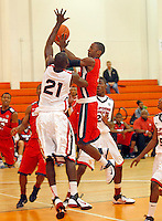 April 9, 2011 - Hampton, VA. USA;  Demarcus Croaker participates in the 2011 Elite Youth Basketball League at the Boo Williams Sports Complex. Photo/Andrew Shurtleff