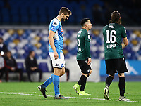 1st December 2019; Stadio San Paolo, Naples, Campania, Italy; Serie A Football, Napoli versus Bologna; Fernando Llorente of Napoli rues a good scoring chance missed - Editorial Use