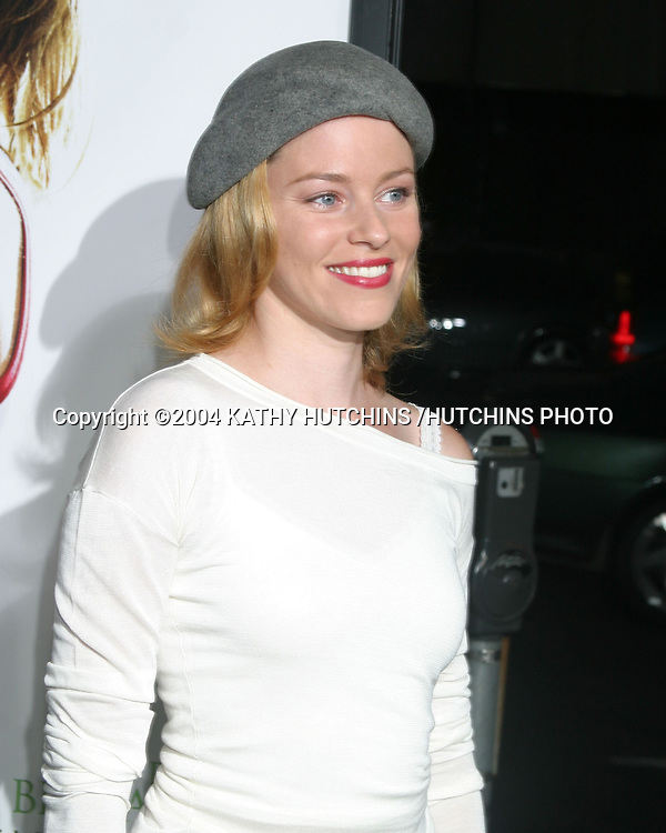 ©2004 KATHY HUTCHINS /HUTCHINS PHOTO.WIMBLEDON PREMIERE.LOS ANGELES, CA.SEPTEMBER 13, 2004..ELIZABETH BANKS
