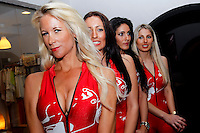 Rally Babes during WRC Vodafone Rally de Portugal 2013, in Algarve, Portugal on April 11, 2013 (Photo Credits: Paulo Oliveira/DPI/NortePhoto)