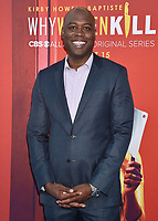 """BEVERLY HILLS, CA - AUGUST 07: Kevin Daniels attends the LA Premiere of CBS All Access' """"Why Women Kill"""" at Wallis Annenberg Center for the Performing Arts on August 07, 2019 in Beverly Hills, California.<br /> CAP/ROT<br /> ©ROT/Capital Pictures"""