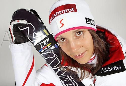 16.10.2010  Winter sports OSV Einkleidung Innsbruck Austria. Ski Alpine OSV Austrian Ski Federation. Picture shows Katrin Ofner AUT