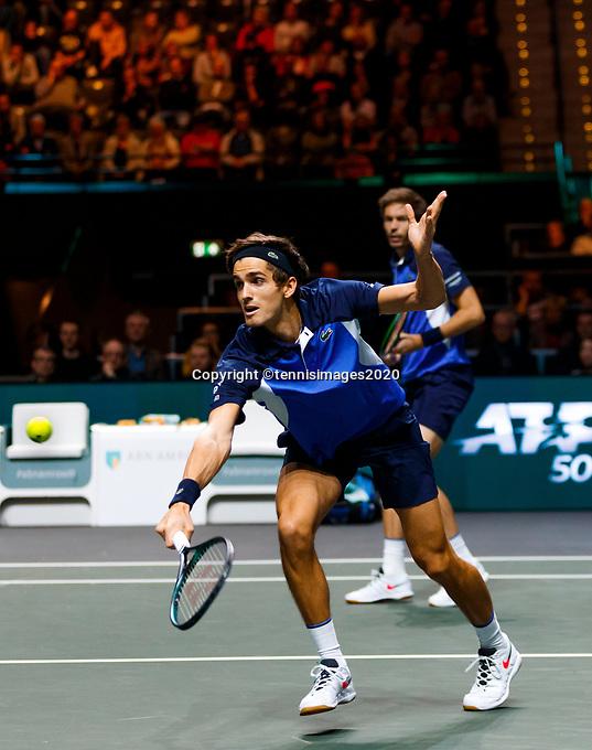 Rotterdam, The Netherlands, 15 Februari 2020, ABNAMRO World Tennis Tournament, Ahoy, <br /> Dooubles: Pierre-Hugues Herbert (FRA) and Nicolas Mahut (FRA).<br /> Photo: www.tennisimages.com