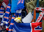 07.04.2018 Rangers v Dundee:<br /> Tributes to Ray Wilkins