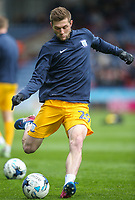 Preston North End's Tom Barkhuizen<br /> <br /> Photographer Alex Dodd/CameraSport<br /> <br /> The EFL Sky Bet Championship - Huddersfield Town v Preston North End - Friday 14th April 2016 - The John Smith's Stadium - Huddersfield<br /> <br /> World Copyright &copy; 2017 CameraSport. All rights reserved. 43 Linden Ave. Countesthorpe. Leicester. England. LE8 5PG - Tel: +44 (0) 116 277 4147 - admin@camerasport.com - www.camerasport.com