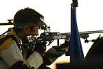 Toshikazu Yamashita (JPN), <br /> AUGUST 21, 2018 - Shooting - Rifle : <br /> Men's 50m Rifle 3 Positions<br /> at Jakabaring Sport Center Shooting Range <br /> during the 2018 Jakarta Palembang Asian Games <br /> in Palembang, Indonesia. <br /> (Photo by Yohei Osada/AFLO SPORT)