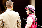 Feb 2011:  Anna Napravnik before the Fair Grounds Handicap at the Fairgrounds in New Orleans, Louisiana.