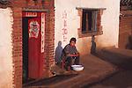 China, a street scene inYangshuo, Guangxi Zhuang Autonomous Region