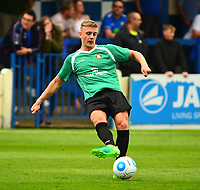 Gainsborough Trinity's Charlie Garter<br /> <br /> Photographer Andrew Vaughan/CameraSport<br /> <br /> Pre-Season Friendly - Gainsborough Trinity v Lincoln City - Saturday 15th July 2017 - The Gainsborough Martin &amp; Co Arena - Gainsborough<br /> <br /> World Copyright &copy; 2017 CameraSport. All rights reserved. 43 Linden Ave. Countesthorpe. Leicester. England. LE8 5PG - Tel: +44 (0) 116 277 4147 - admin@camerasport.com - www.camerasport.com