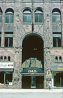 Detroit:  David Stott Building 1929--entrance.  Donaldson & Meier.  Art Deco.  Photo '97.