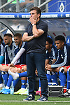 01.09.2019,  GER; 2. FBL, Hamburger SV vs Hannover 96 ,DFL REGULATIONS PROHIBIT ANY USE OF PHOTOGRAPHS AS IMAGE SEQUENCES AND/OR QUASI-VIDEO, im Bild Trainer Dieter Hecking(Hamburg) Foto © nordphoto / Witke *** Local Caption ***